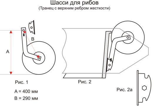 транцевое колесо размер