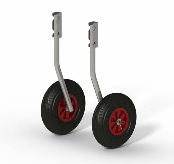 купить транцевые колеса с регулировкой высоты